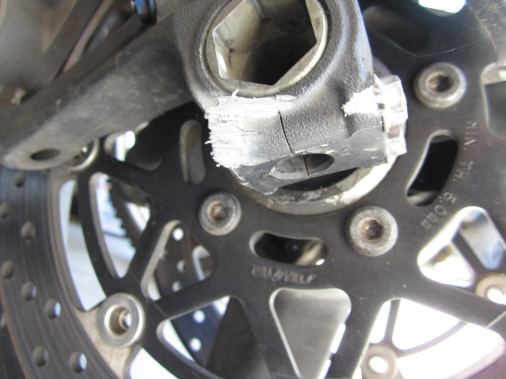 partial GSXR front end - Vampires Motorcycle Club